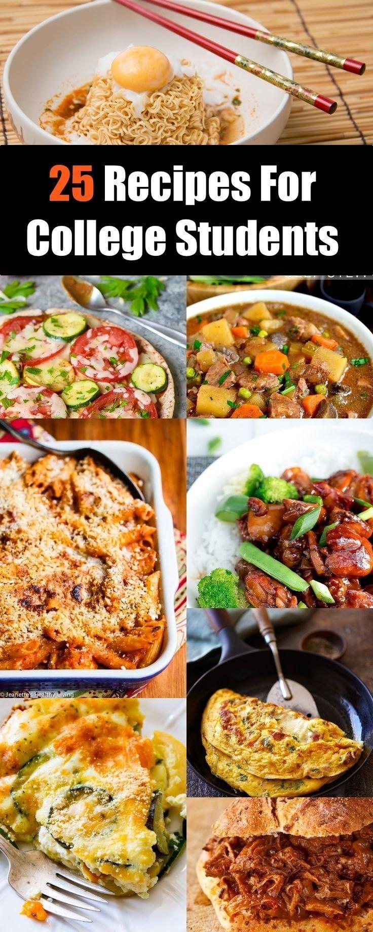 10 Trendy Cheap Dinner Ideas For 4 2715 best college recipes images on pinterest kitchens rezepte 2 2020