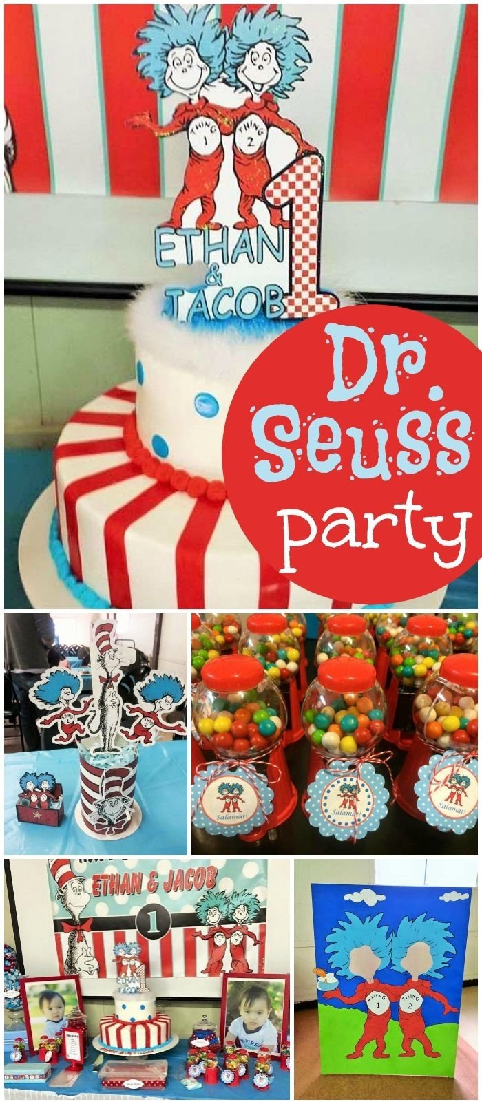 10 Beautiful Dr Seuss First Birthday Party Ideas 277 best dr seuss party ideas images on pinterest birthday party