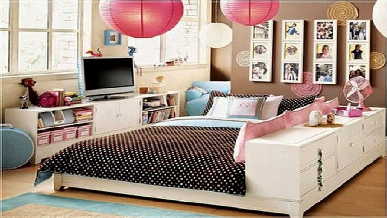 28 cute bedroom ideas for teenage girls - room ideas - youtube