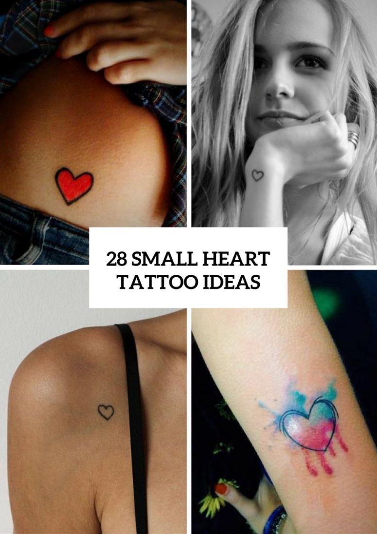 10 Unique Small Tattoo Ideas For Women 28 cute small heart tattoo ideas for women bidernet