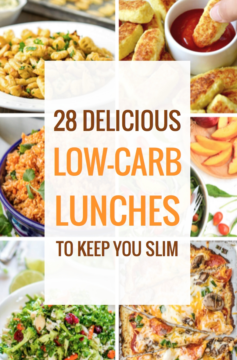 28 delicious low-carb lunches to keep you slim | low carb lunch, low