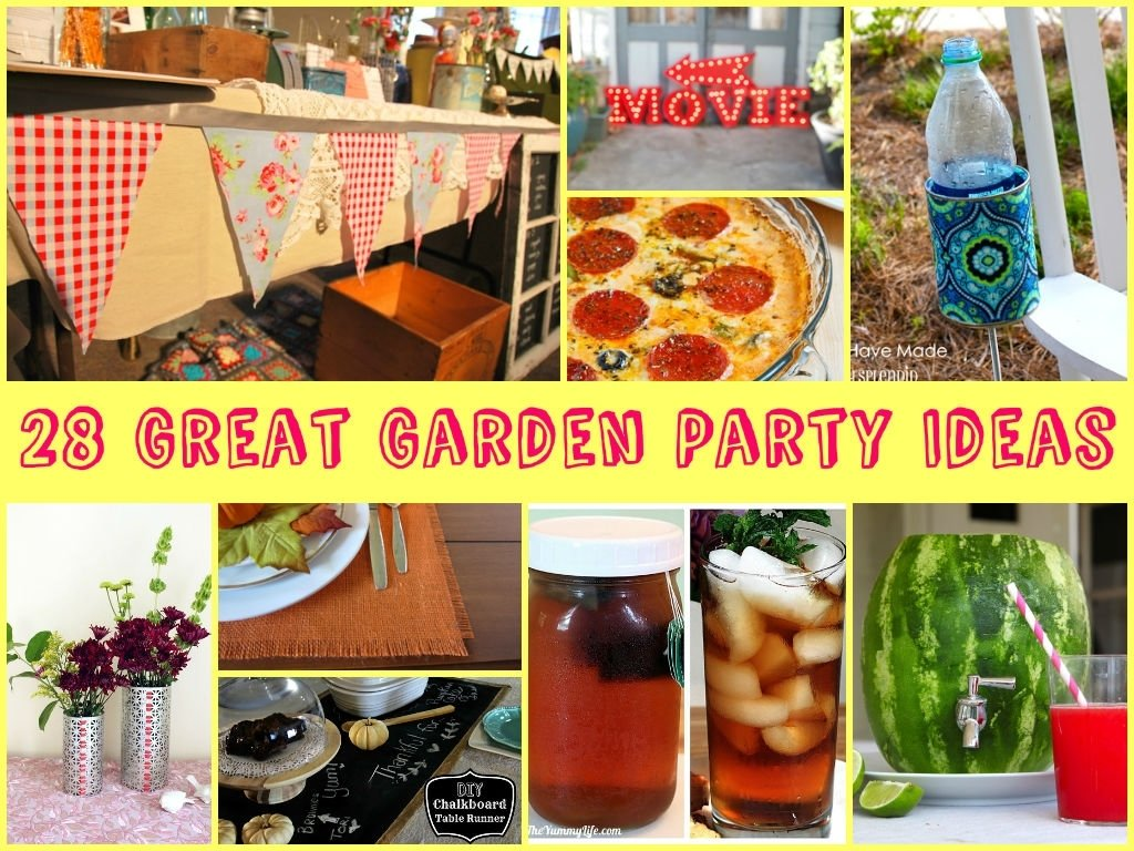 10 Fabulous Great Party Ideas For Adults 28 great garden party ideas 2020