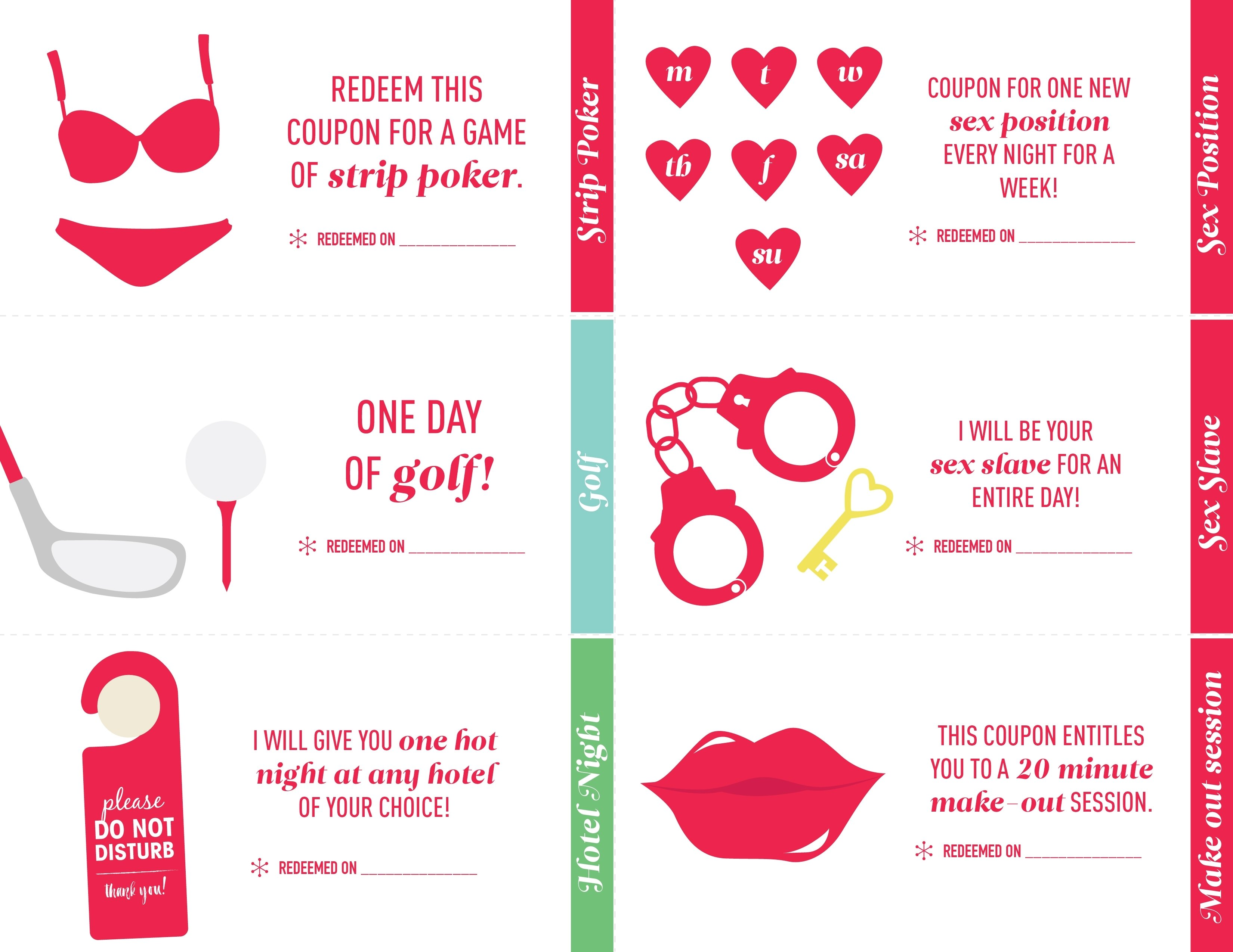 10 Wonderful Coupon Book Ideas For Girlfriend 28 images of for him love coupons template infovia 1 2021