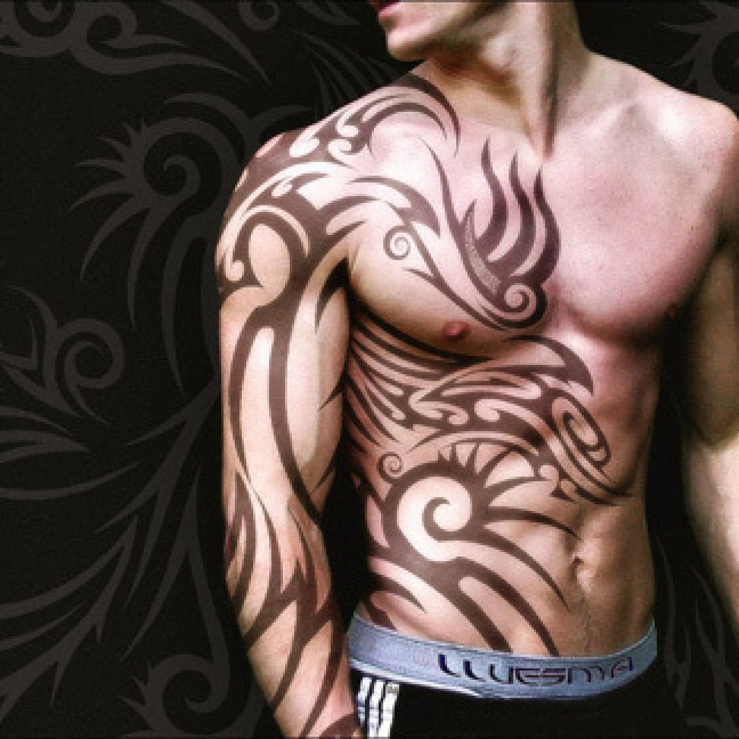 28 insanely cool tribal tattoos for men | tattoo, tribal sleeve