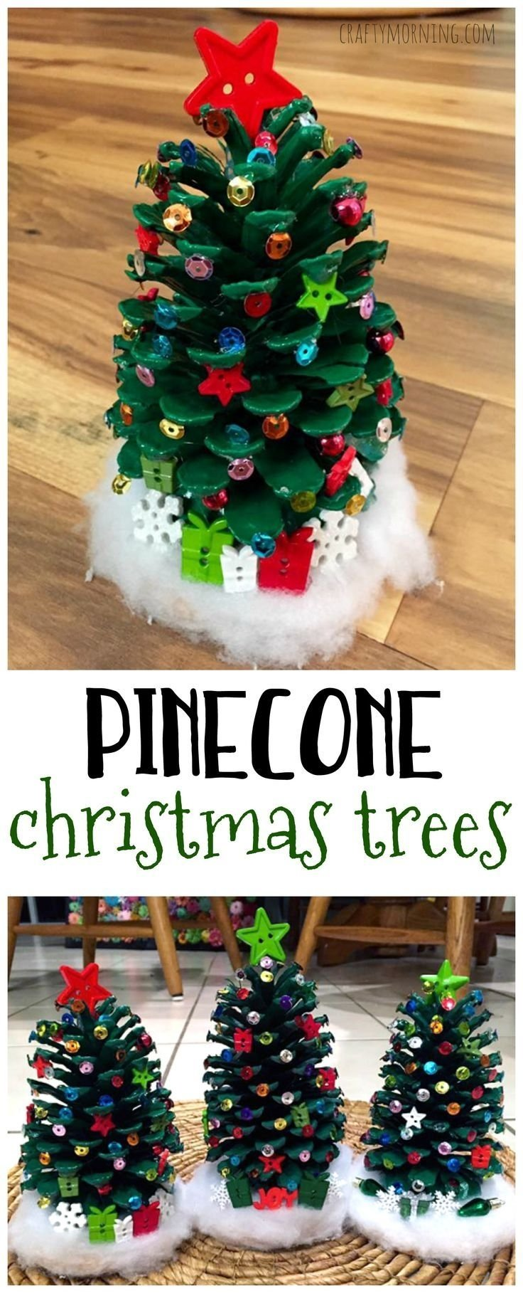 10 Most Popular Homemade Christmas Ornament Ideas For Kids 2809 best christmas crafts kids images on pinterest christmas 1 2020