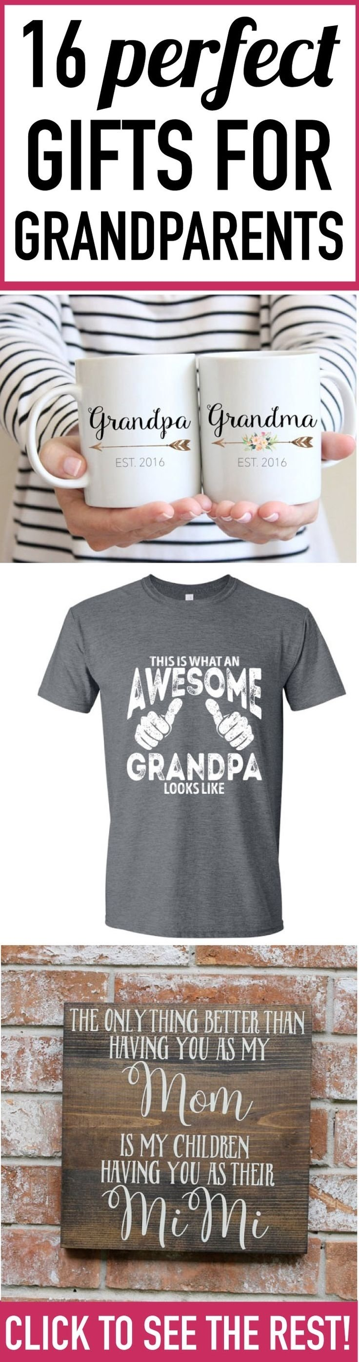 10 Fantastic Gift Ideas For New Grandparents