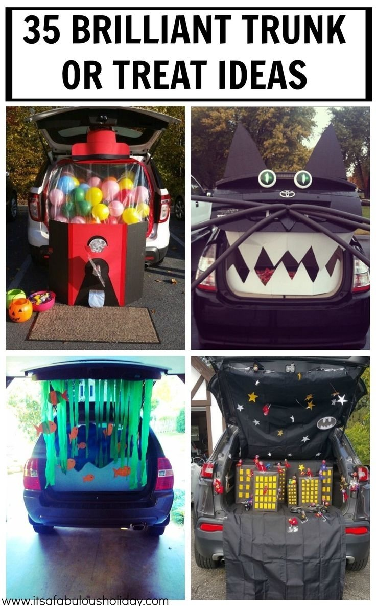 10 Perfect Easy Trunk Or Treat Decorating Ideas 288 best trunk or treat and fall festival ideas images on pinterest 2020