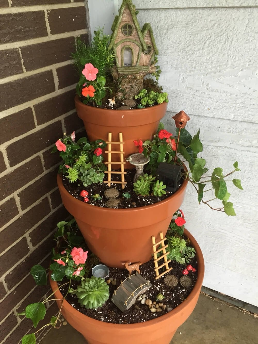 10 Awesome Planter Ideas For Front Porch 29 best front door flower pots ideas and designs for 2018 3 2021