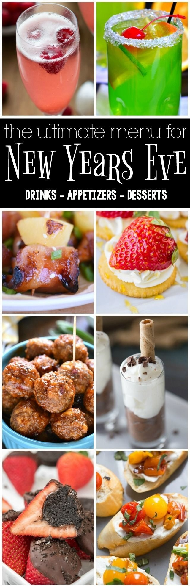 10 Ideal New Years Eve Desserts Party Ideas 29 best new years eve images on pinterest petit fours biscuit 2020