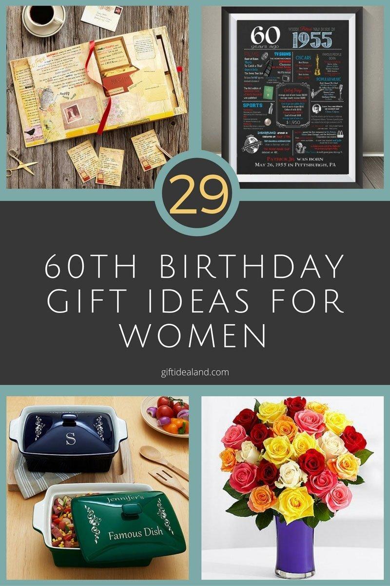 10 Wonderful Ideas For A 60Th Birthday 29 great 60th birthday gift ideas for her womens sixtieth 7 2020