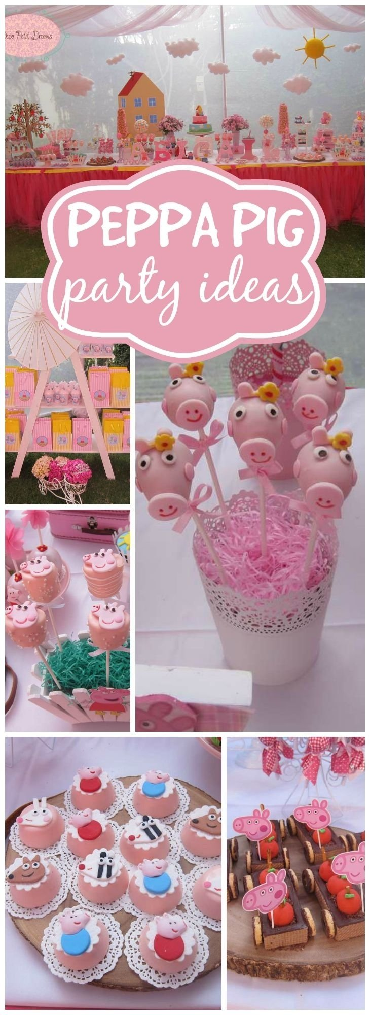 10 Great Birthday Party Ideas For Girls Age 6 293 best peppa pig party ideas images on pinterest anniversary 2020