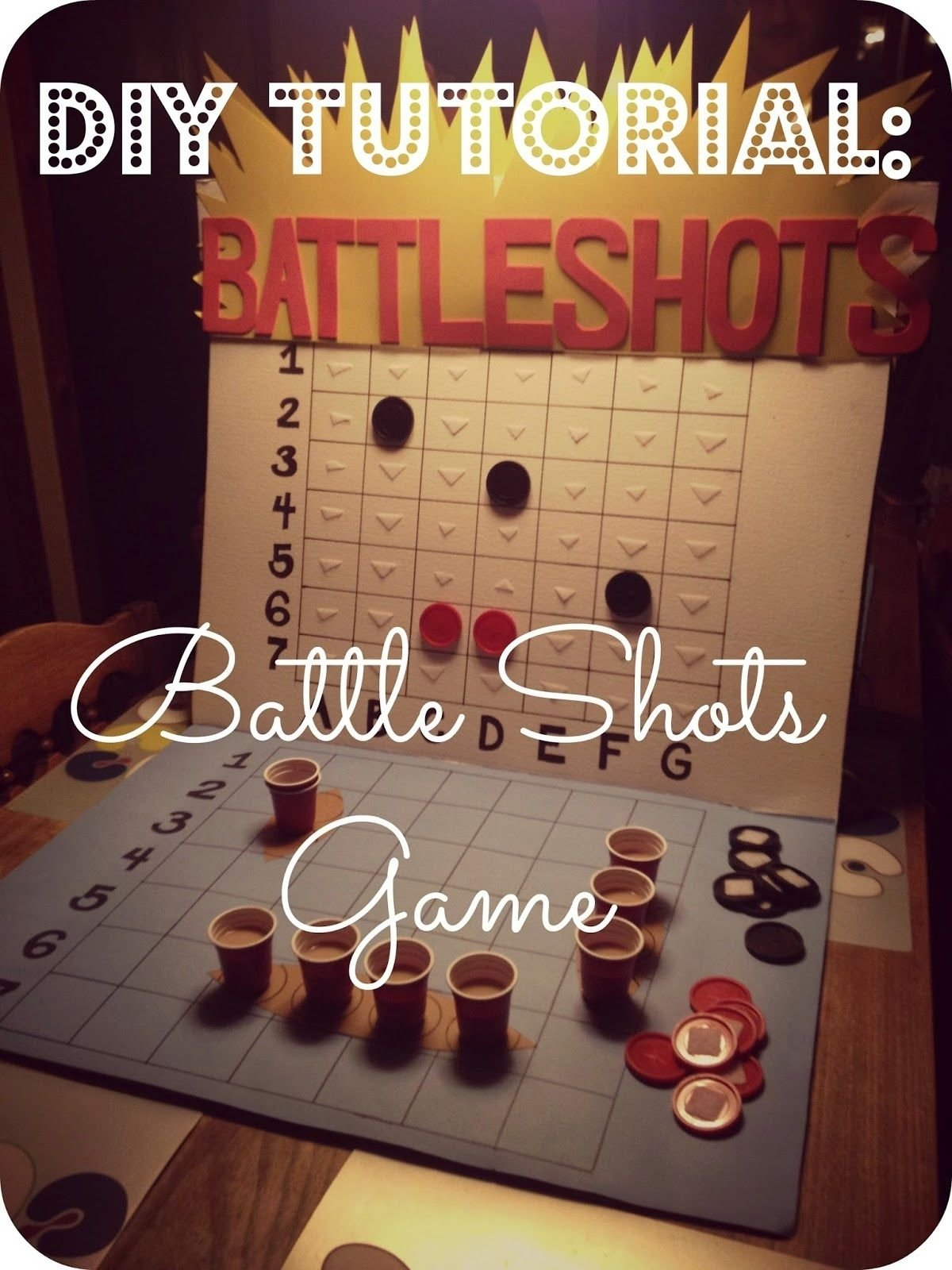 10 Fantastic Game Night Party Ideas For Adults 2messy diy battle shots drinking game why didnt i think of