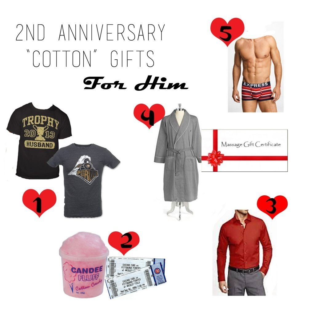 10 Fantastic 2Nd Year Anniversary Gift Ideas For Him 2nd anniversary cotton gift guide for him love the cotton candy 1
