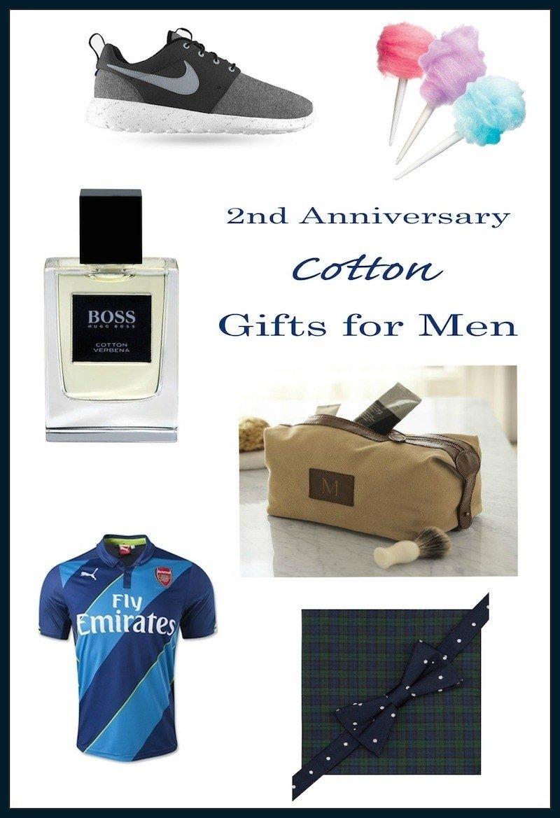 10 Elegant Cotton Anniversary Gift Ideas For Him 2nd anniversary gift ideas for him anniversary gifts 6 2020