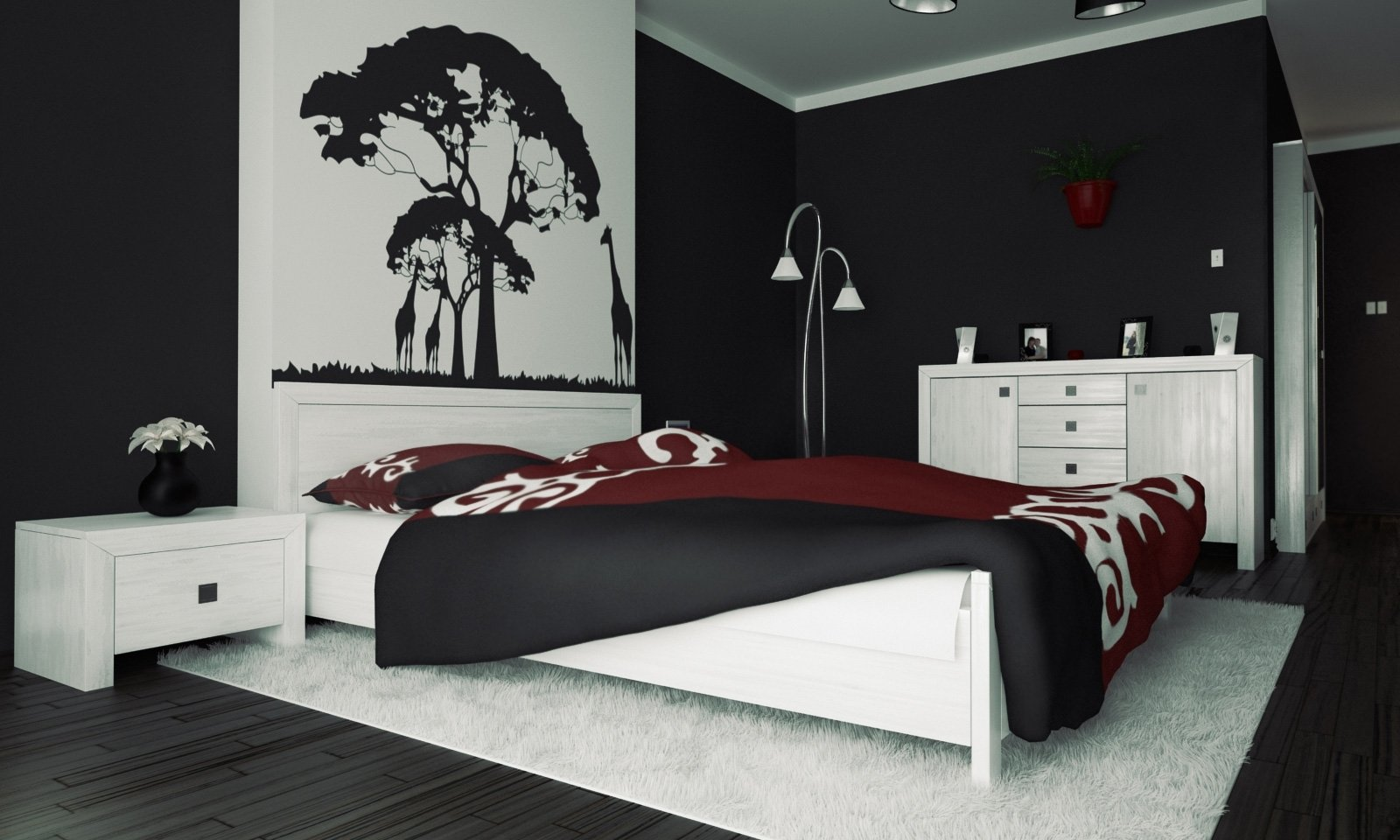 10 Ideal Black And White Painting Ideas 3 black and white bedroom ideas midcityeast 2020