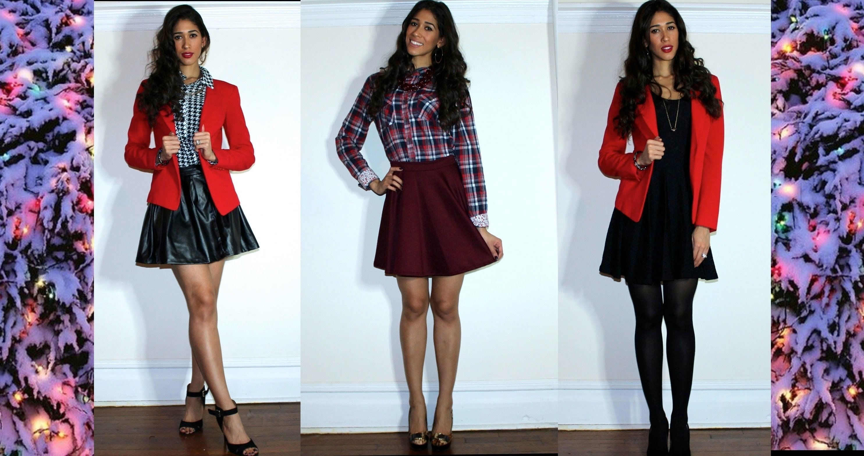 10 Famous Christmas Outfits For Women Ideas 3 christmas outfit ideas 2013 youtube 1 2021