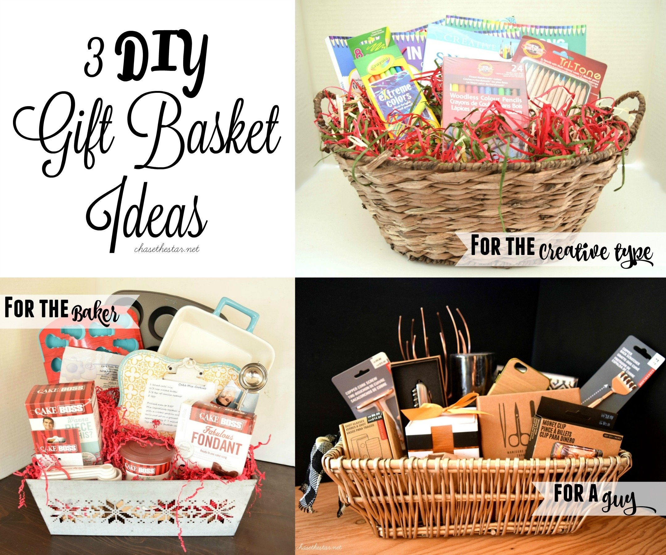 10 Cute Homemade Gift Basket Ideas For Christmas 3 diy gift basket ideas 4 2020