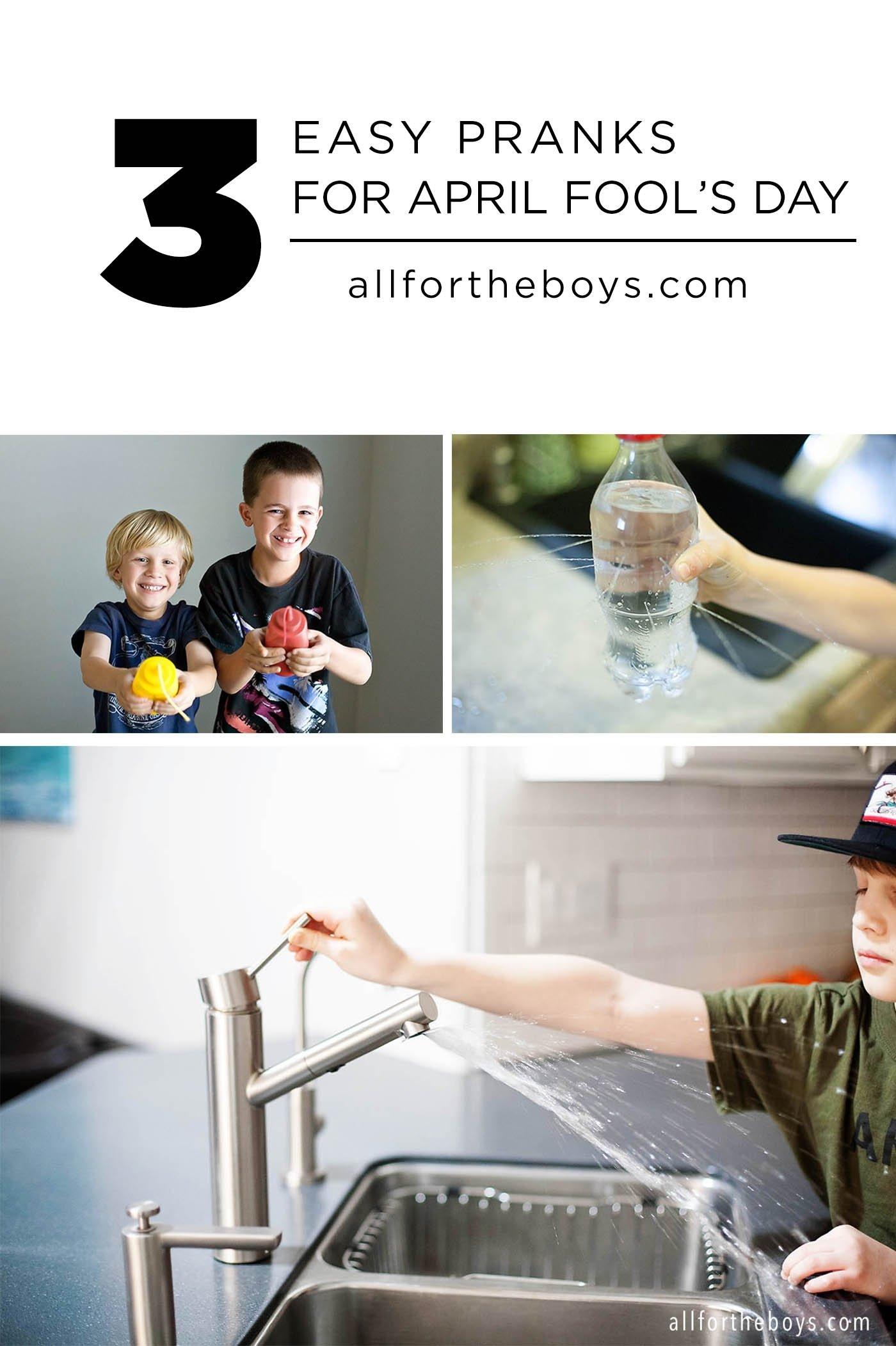 10 Most Popular Good Ideas For April Fools Day 3 easy pranks for april fools day all for the boys