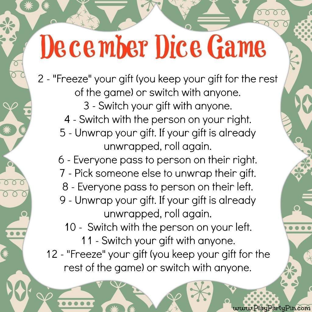 fun christmas gift exchange games | Creativepoem.co