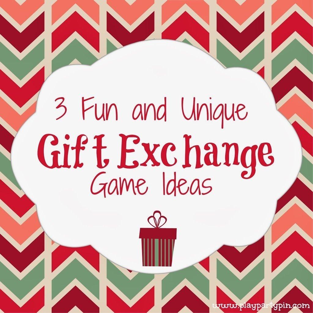 10 Beautiful Fun Christmas Gift Exchange Ideas 3 fun and unique gift exchange ideas play party pin holiday