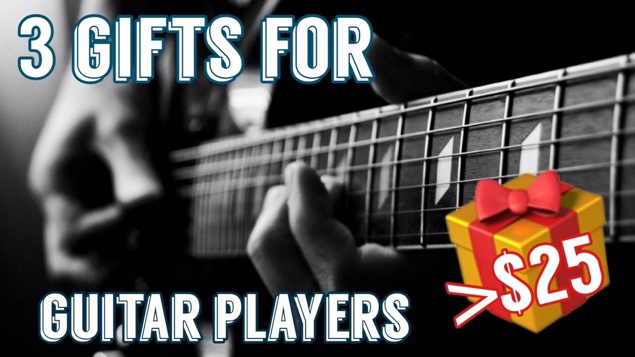 10 Stunning Gift Ideas For Guitar Players 3 gifts for guitar players guitarist under 25 youtube 2020
