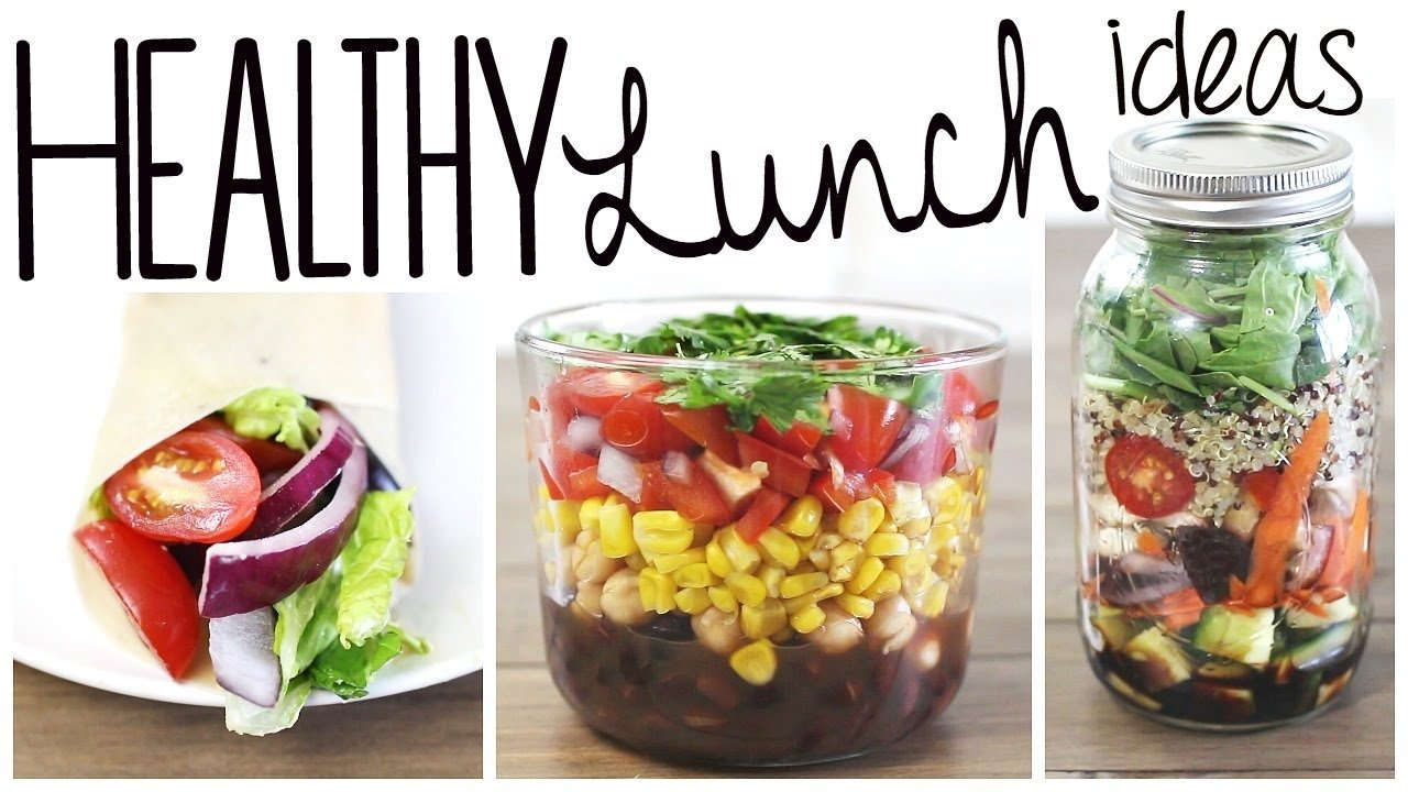 10 Great Quick Easy Healthy Lunch Ideas 3 healthy easy lunch recipes vegan gluten free youtube 2021