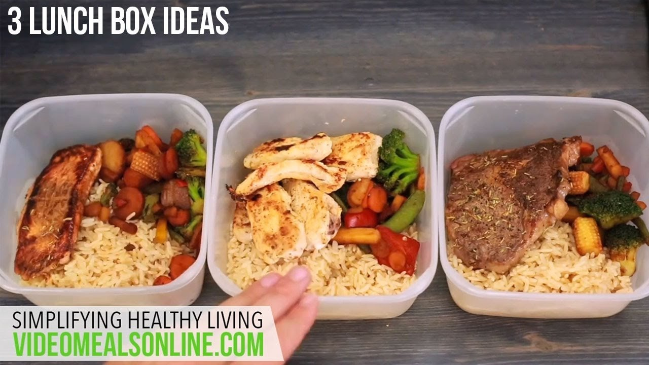 10 Most Popular Work Lunch Ideas For Men 3 lunch box ideas youtube 1 2020