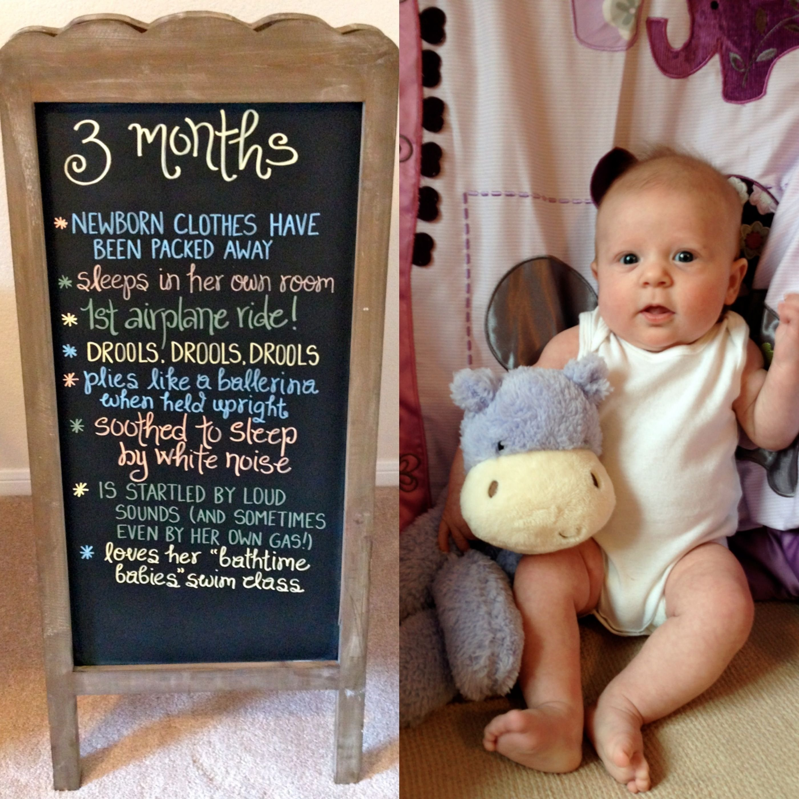 10 Stylish 3 Month Baby Boy Picture Ideas 3 months baby chalkboard baby boy pinterest babies and pregnancy 1 2021