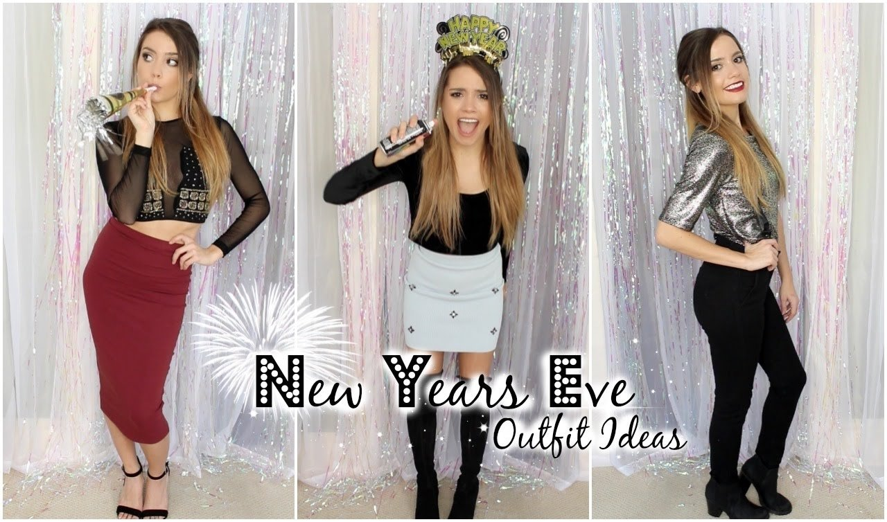 10 Ideal New Years Eve Dress Ideas 3 new years eve outfit ideas 2014 youtube 2020