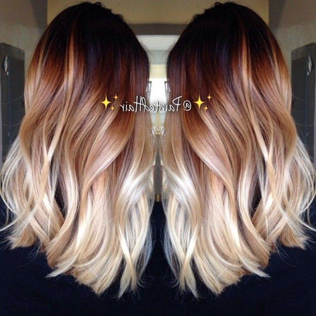10 Fantastic Three Tone Hair Color Ideas