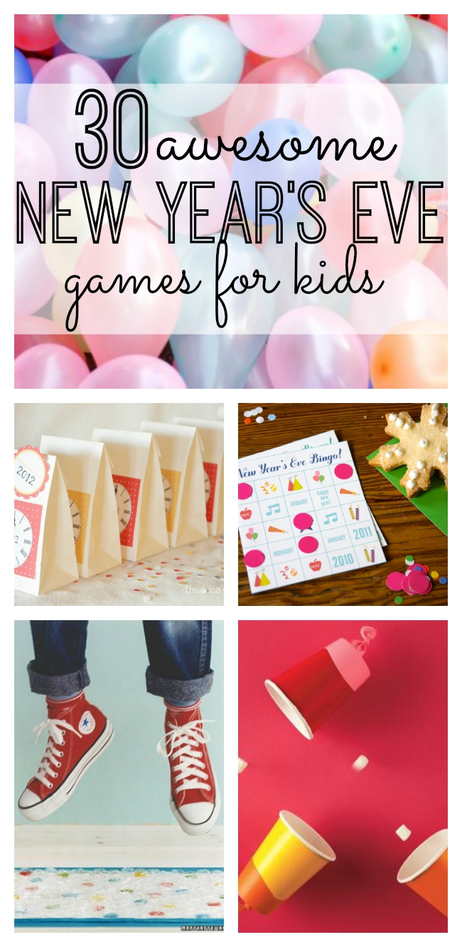 30 awesome new year's eve games for kids | eve game, 30th and gaming
