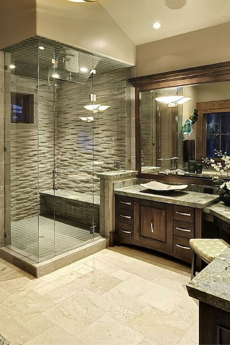 10 Attractive Shower Ideas For Master Bathroom 30 bathrooms with l shaped vanities master bath layout layouts 2021