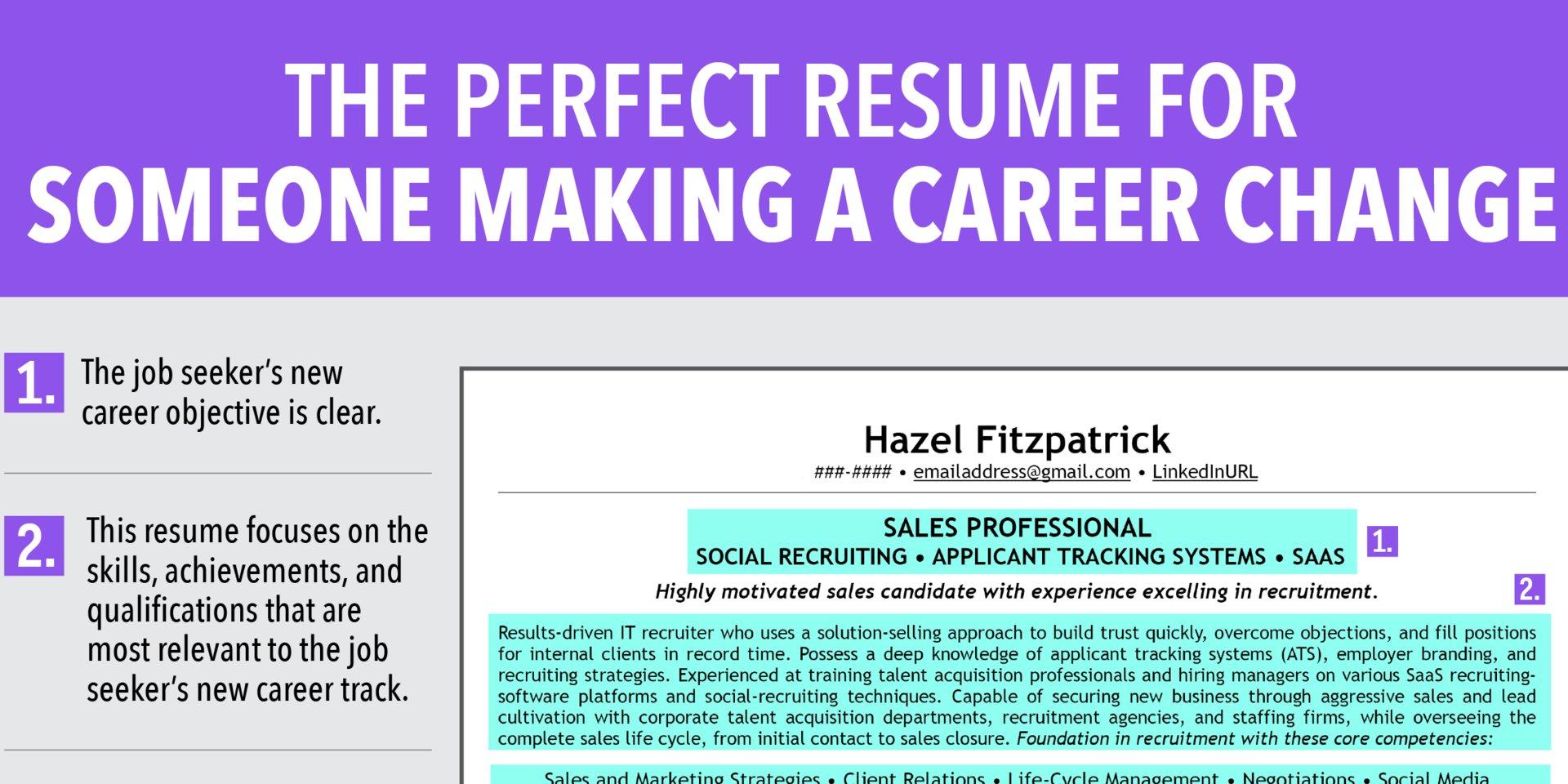 10 Stylish New Career Ideas At 30 30 beautiful career change resume sample free ideas at hirnsturm