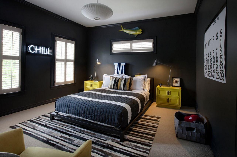 10 Beautiful Cool Room Ideas For Teenage Guys 30 best bedroom ideas for men teen boys teen and bedrooms 1 2020