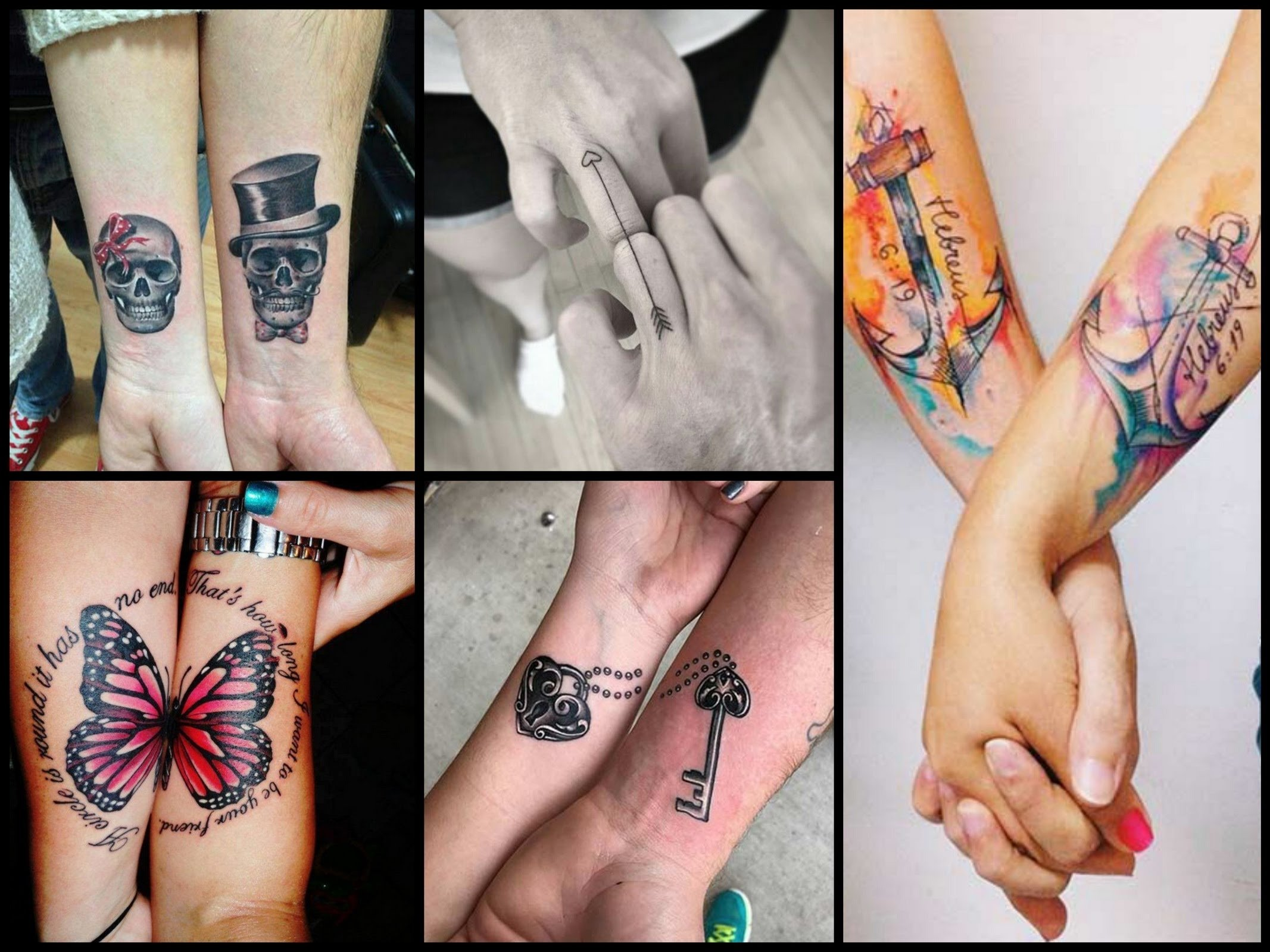 10 Most Popular Matching Tattoos For Couples Ideas 30 best couple tattoo ideas youtube 6