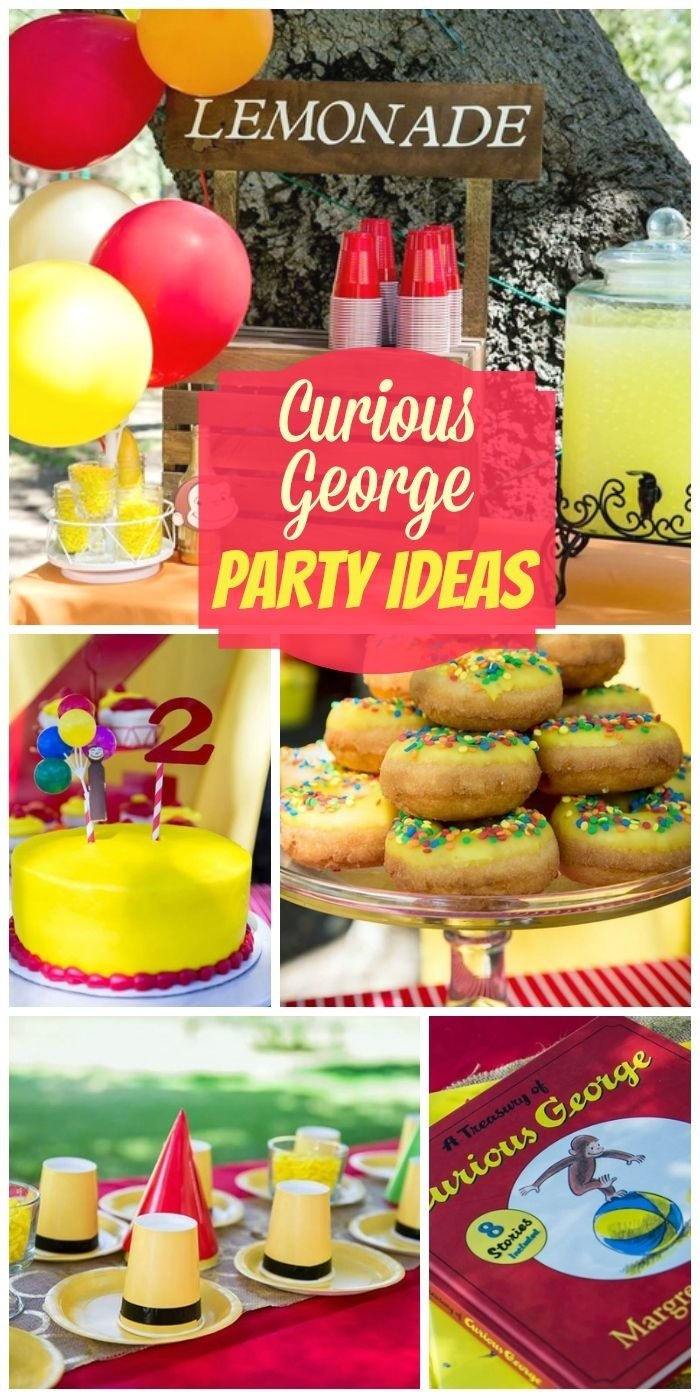 10 Ideal Monkey Themed Birthday Party Ideas 30 best curious george birthday party ideas images on pinterest 3 2021
