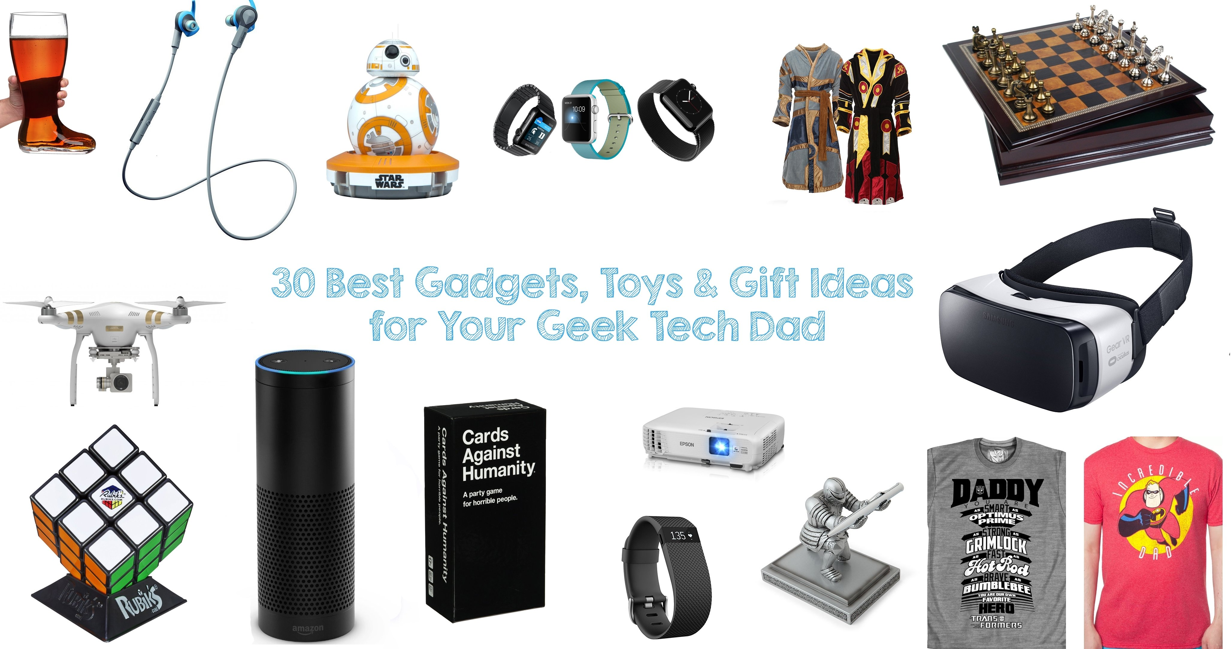 10 Lovable Best Gift Ideas For Dad 30 best gadgets toys gift ideas for your geek tech dad walyou 2 2021