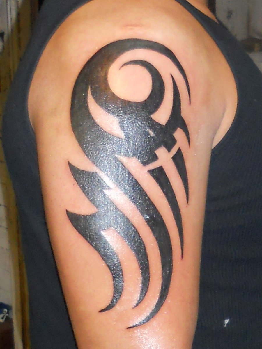 30 best tribal tattoo designs for mens arm | tribal arm tattoos, arm