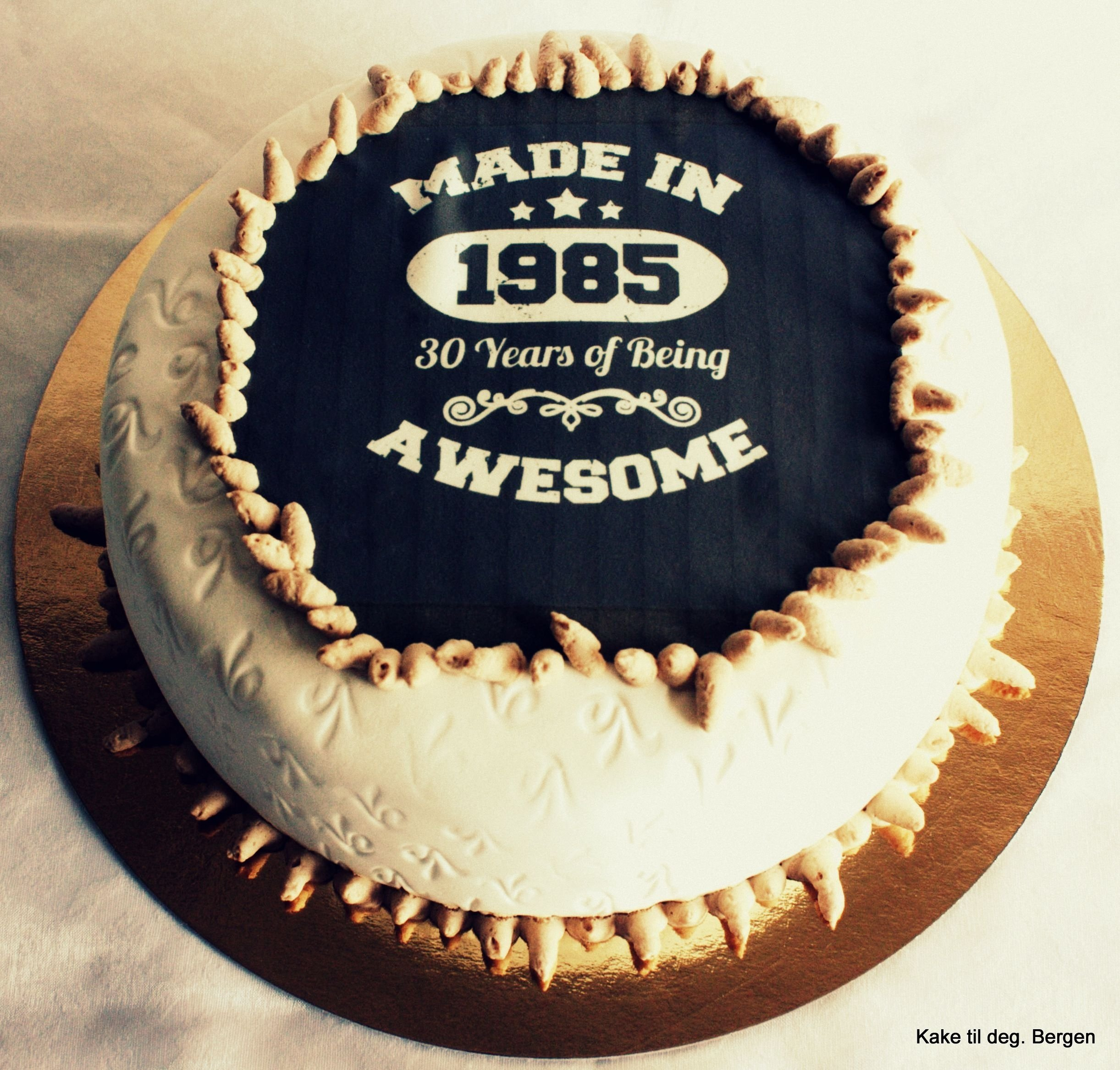 10 Ideal 30Th Birthday Ideas Los Angeles 30 Cake For Him Pinteres 2