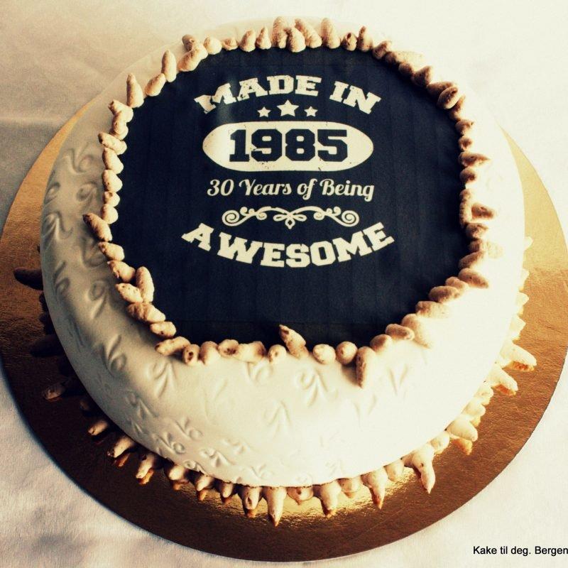 10 Gorgeous 30th Birthday Cake Ideas For Men 2019