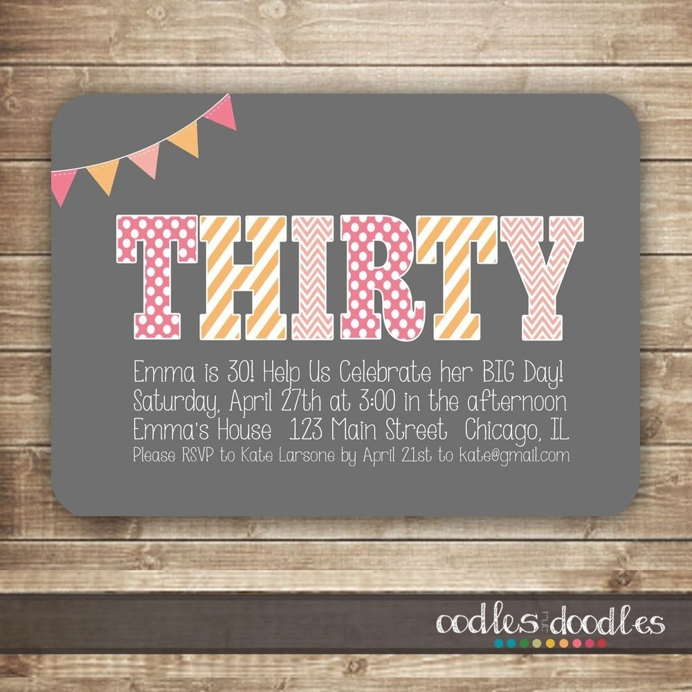 10 Fabulous 30Th Birthday Party Ideas Chicago 30 For Her Google Search Thirty