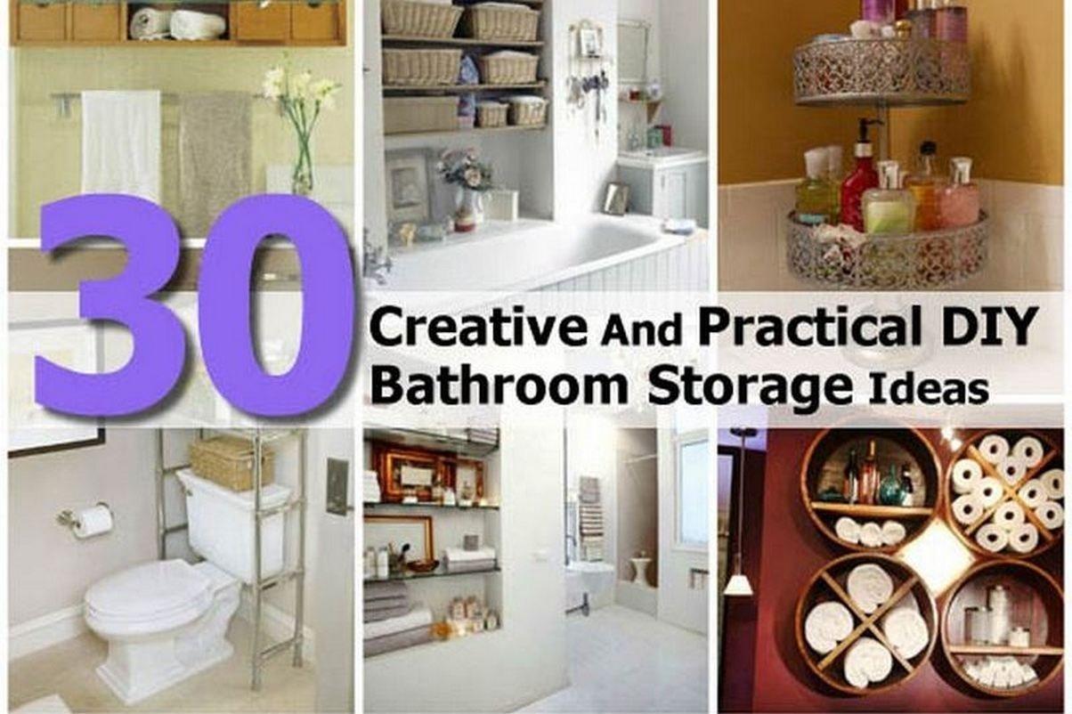 10 Elegant Do It Yourself Storage Ideas 30 creative and practical diy bathroom storage ideas 2021