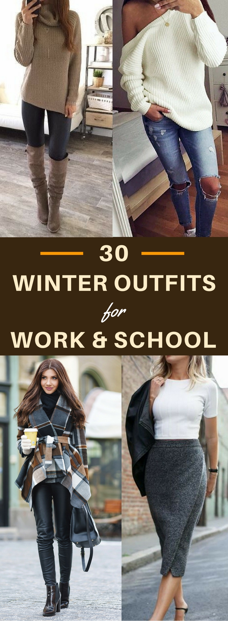 10 Nice Winter Outfit Ideas For School 30 decent yet chic winter outfits for work and school 2020