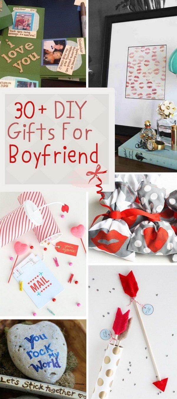 10 Stylish Homemade Birthday Ideas For Boyfriend 30 diy gifts for boyfriend 2017 2021