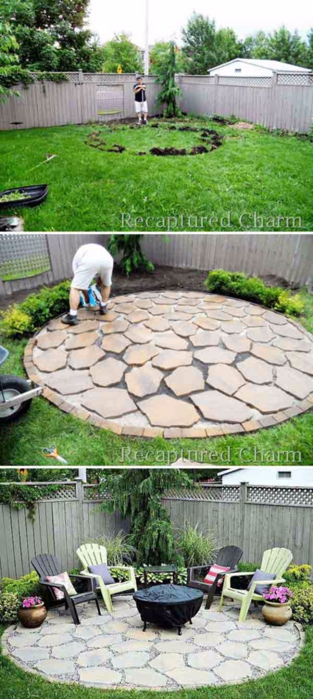 10 Great Do It Yourself Backyard Ideas 30 diy patio ideas on a budget diy patio patios and budgeting 5