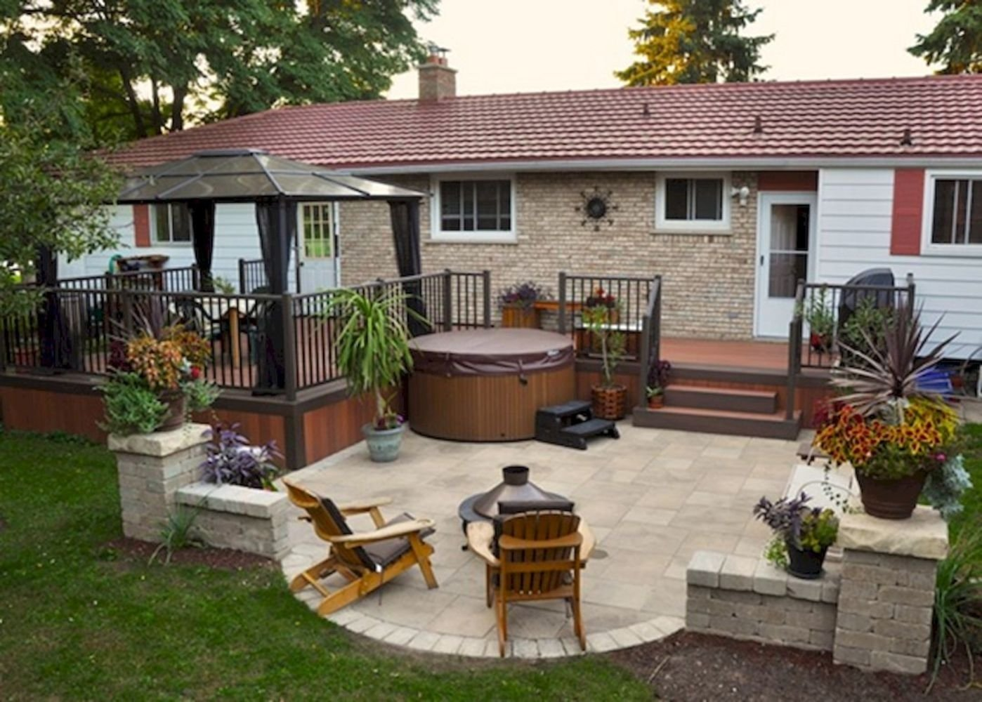 30 diy patio ideas on a budget - wartaku