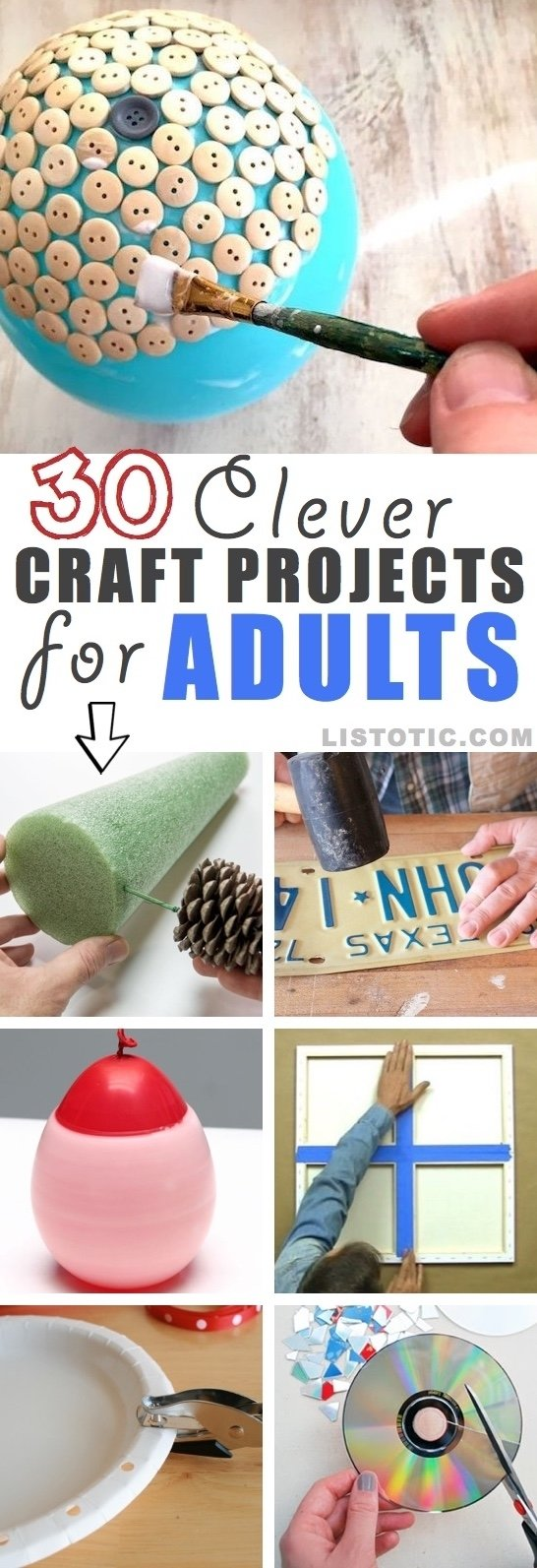 10 Best Easy Craft Ideas For Adults 30 easy craft ideas that will spark your creativity diy projects 2020