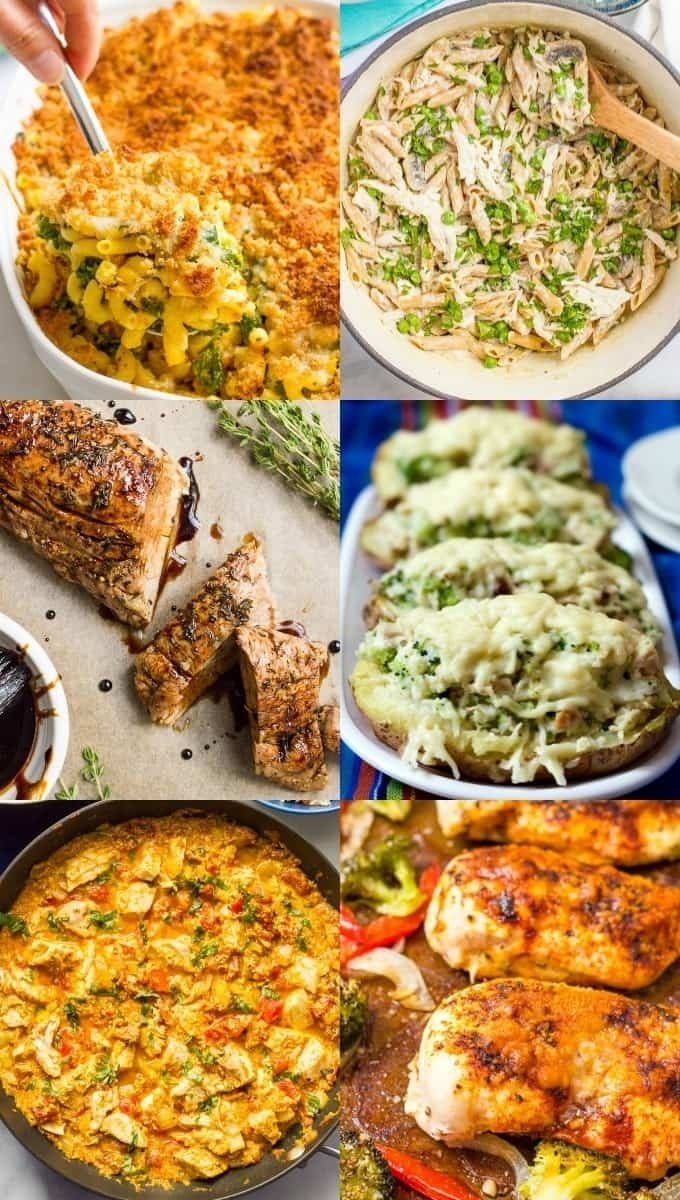 30 easy healthy family dinner ideas - family food on the table
