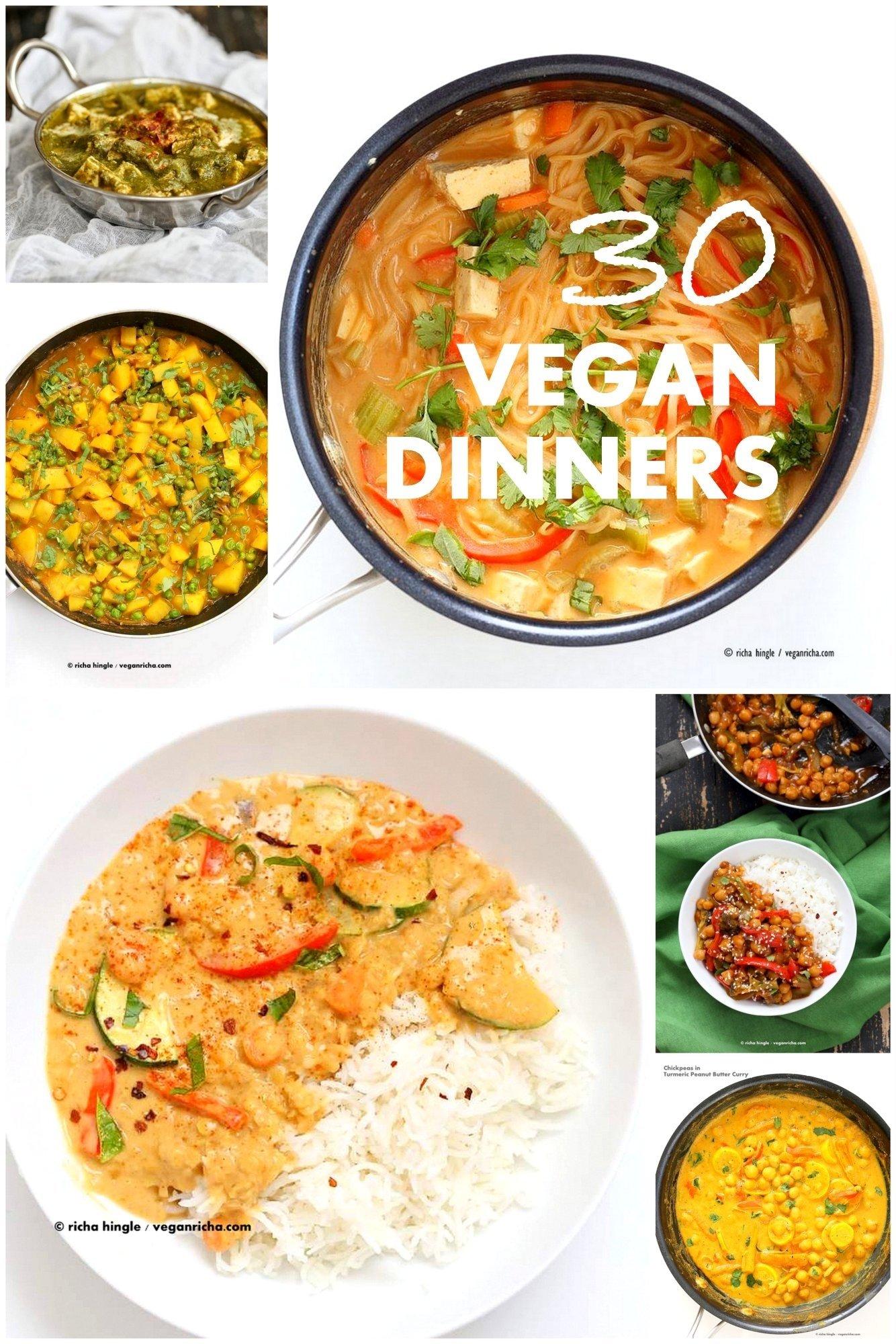 10 Unique Dinner Ideas Quick And Easy 30 easy vegan dinner recipes vegan richa 1