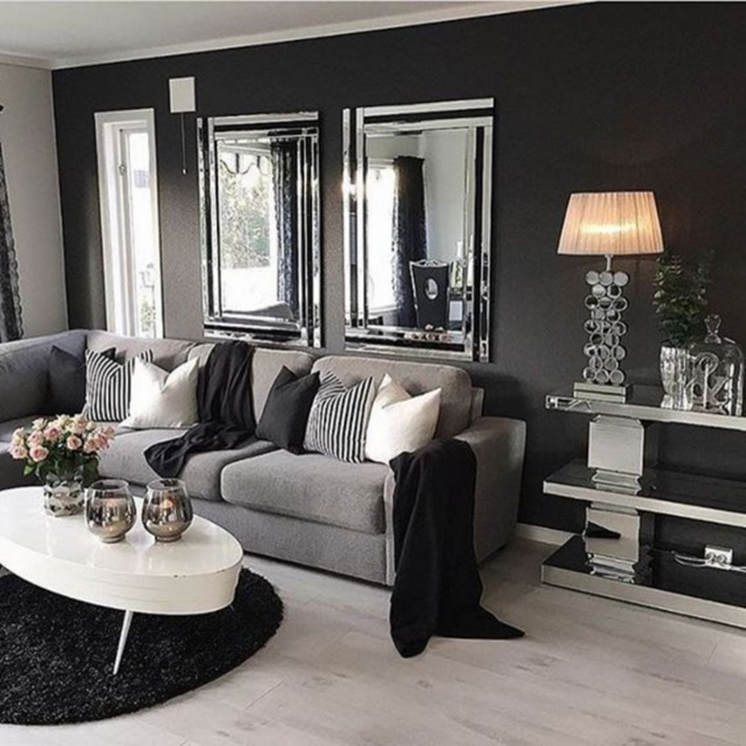 10 Unique Living Room Ideas With Gray Walls 30 elegant gray living room ideas for amazing home living room 2020